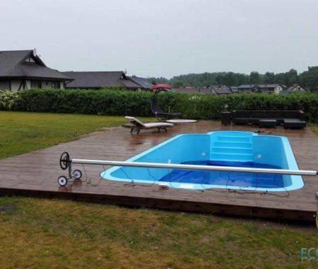 Dobelnieki — бассейн 11.50mx4.0m H1.5m